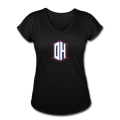 Women's V-Neck Tri-Blend T-Shirt by DeAndre Hopkins