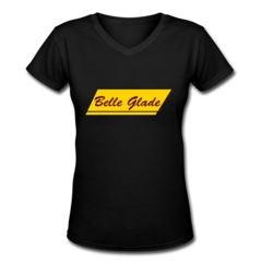 Women's V-Neck T-Shirt by Belle Glade