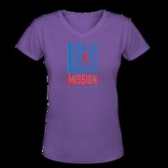 Women's V-Neck T-Shirt by Nigel Talton