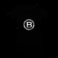 Women's V-Neck Tri-Blend T-Shirt by BESA Hockey