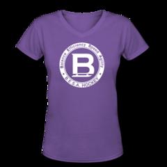 Women's V-Neck T-Shirt by BESA Hockey