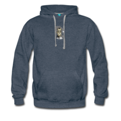 Men's Heavyweight Premium Hoodie by Chip David