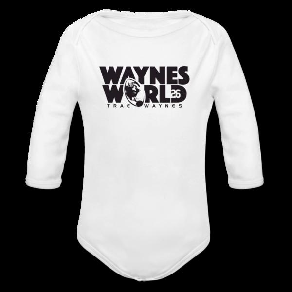 Long Sleeve Baby Boys' Bodysuit by Trae Waynes