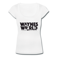 Women's Scoop Neck T-Shirt by Trae Waynes