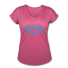 Women's V-Neck Tri-Blend T-Shirt by Ryan Martin