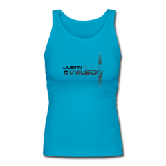 Women's Longer Length Fitted Tank by Justin Wilson
