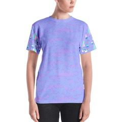 All-Over Print Women's Crew Neck T-Shirt