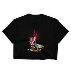 2332 Fine Jersey Short Sleeve Cropped T-Shirt