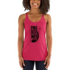 6733 Ladies' Triblend Racerback Tank